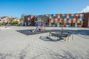 Bestrating schoolplein Zwolle